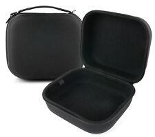 Large Matte Black EVA Storage Case for Creative HS800 Fatal1ty Gaming Headset