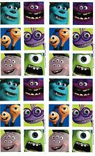 4 Sheets Disney Monsters University Close Ups Scrapbook Stickers