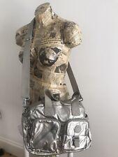 Kipling Shoulder Bag DEFEA UP Handbag Cross Body Silver CLOUD METAL RRP£93
