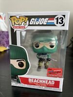 Funko Pop GI Joe Beach Head #13 Official NYCC 2020 Limited Edition Sticker
