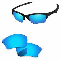 PapaViva Ice Blue Mirror Polarized Replacement Lenses For-Oakley Half Jacket XLJ