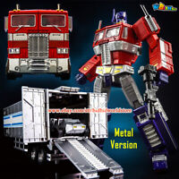 """KBB Transformers OP MP10V G1 Optimus Prime Container Metal Version 8"""" Figure Toy"""