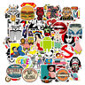 100 Random Skateboard Stickers bomb Vinyl Laptop Luggage Decals Dope Sticker Lot