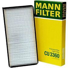 Porsche Cabin Filter MANN CU 3360 Cabin Air Filter