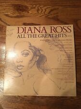 Diana Ross All The Great Hits 2 Vinyl  Lp Record VG Endless Love Upside Down