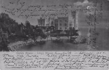 SELTEN alte  Foto AK 1901@TRIESTE Castello / Schloss Miramar @Mondschein-Karte