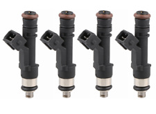 4PCS High Impedance 1600cc Fuel Injectors For Ford Focus Mustang EV1 Connector