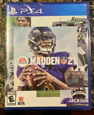 Madden Nfl 21 (Ps4 / PlayStation 4)- Ea Sports- Free Shipping-Factory Seal Pack.