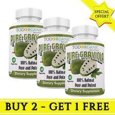 Graviola Capsulas - Suplemento Dietetico 100% Natural- Compra 2 lleva 1 gratis!