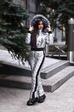 Winter Ski Suit Shiny Nylon Womens Overall Skioverall Skianzug Glanznylon Damen