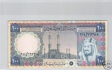 ARABIE SAOUDITE 100 RIYALS ND (1976) PICK 20 N° 2 !!!!