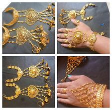 Bracelet Indian 22K Bridal Indian Pakisani Wedding Gorgeous Haat Panja Wedding