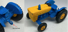 Matchbox Lesney No 39 Blue Ford Tractor - RARE 1st Casting Thin Tow hook - VNM