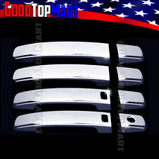 For Nissan ALTIMA 2007-2013 Chrome 4 Door Handle Covers WITH Smart + w/out PK
