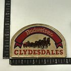 Vtg As-Is-Dirty BUDWEISER CLYDESDALES Iconic Horses Advertising Patch 07F