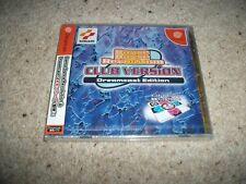 DANCE DANCE REVOLUTION - CLUB VERSION - Sega Dreamcast (NTSC/J) Rare NEW SEALED