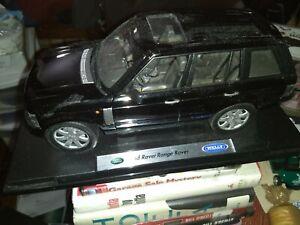 Land Rover Range Rover 1:18 Welly Diecast Black Box Is Origonal