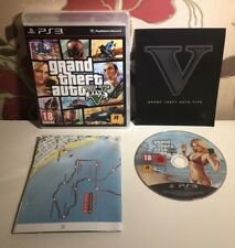 Grand Theft Auto V For Sony PlayStation 3 Complete With Manual + Map PS3 GTA 5