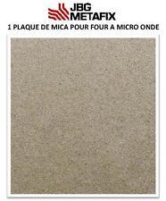 1  plaque de Mica pour four à Micro-Onde 150 X 100 mm- France Haute performance