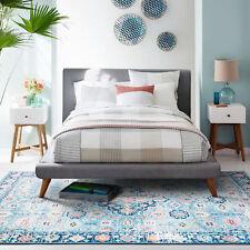 Large Floor Rug Mat Soft Allover Traditional Persian Vintage Lounges Carpet Mat