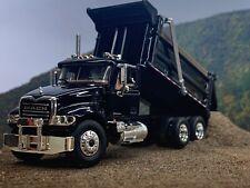 1/64 FIRST GEAR BLACK MACK GRANITE DUMP TRUCK