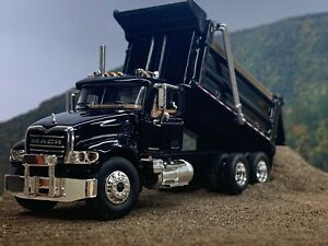 1/64 FIRST GEAR BLACK MACK GRANITE DUMP TRUCK