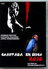 COARTADA EN DISCO ROJO DVD PRECINTADO IMPORTACIÓN GEORGE HILTON GIALLO DE CULTO