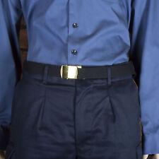 More details for standard black polypropylene waist belt - royal navy - rn