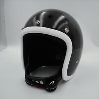 New Open face motorcycle helmet fiberglass retro vintage cool custom