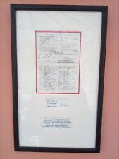 More details for joel garner,subba row, harbajan singh ,tinu yohana framed /autographed scorecard