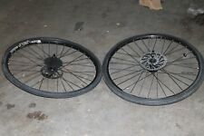 Set of 2 WTB Laserdisc Trail 29er Wheelset Shimano Deore XT HB-M756 With Tires