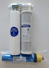 RAINSOFT ULTREFINER 9596 22 GPD FILTER PACK WITH IN LINE - CITY AND WELL WATER