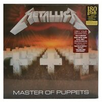 Metallica Master of Puppets New Vinyl 180 gram LP Factory Sealed