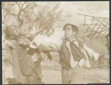 Strange Lady In Town '55 DANA ANDREWS PUNCHING BOB WILKE