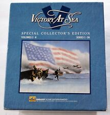 VHS Tape Set: Victory At Sea Special Collector's Edition Volume 1-6 Documentary