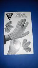 Bestway Adult's Gloves Knitting Pattern 2600