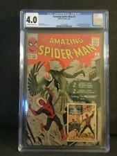 CGC Amazing Spider-Man # 2 * 4.0 * OW/WP * First Vulture & Terrible TInkerer