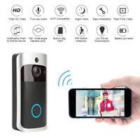 Ring Video Doorbell Camera Wireless WiFi Security Phone Bell Intercom 720P HD CJ