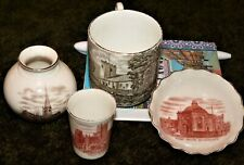 Goss crested china 4 Goss transfers, 2 red Grasmere Wells Harrogate Chesterfield