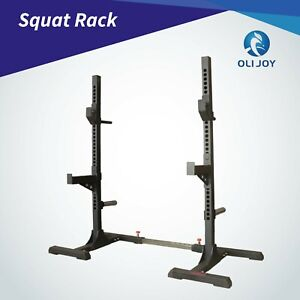 Adjustable Squat Rack Barbell Rack Lifting Barbell Home Gym Weight Liftting Rack