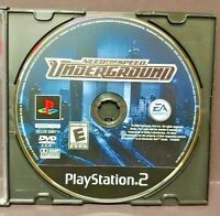Need For Speed Underground Racing - Playstation 2 PS2 Game Rare Tested