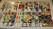 Complete Set Run Avengers 284-303 She-Hulk Namor Wasp Dr Druid Thor Black Knight