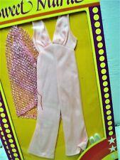 Vtg Mego CHER 70s Doll Clothes VARIANT NETWORKS *Pink* Alternate Packaging *Rare