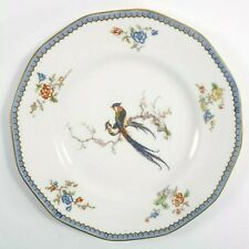 Antique Theodore Haviland Limoges Paradise Dinner Plate Birds Floral