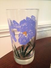 "Boscul PEANUT BUTTER DWARF IRIS ""5"" WATER GLASS*"