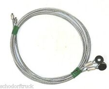 "Todco Truck & Trailer Overhead Door Cables, 95"" with 1/4"" eye, pair"