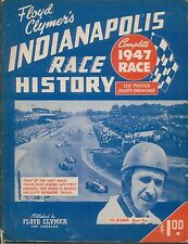 Floyd Clymer's Indianapolis 500 mile Race History 1947 Supplement