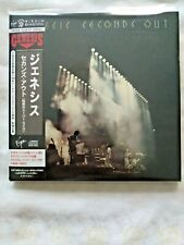 GENESIS Seconds Out JAPAN CD VJCP-68901-02 2009  LIKE NEW