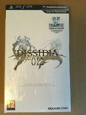 Coffret Collector Final Fantasy Dissidia Duodecim 012 - PSP - Neuf sous Blister