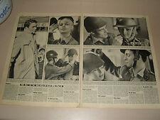 BRIGITTE BARDOT clipping ritaglio articolo foto photo=ANNI '50=71